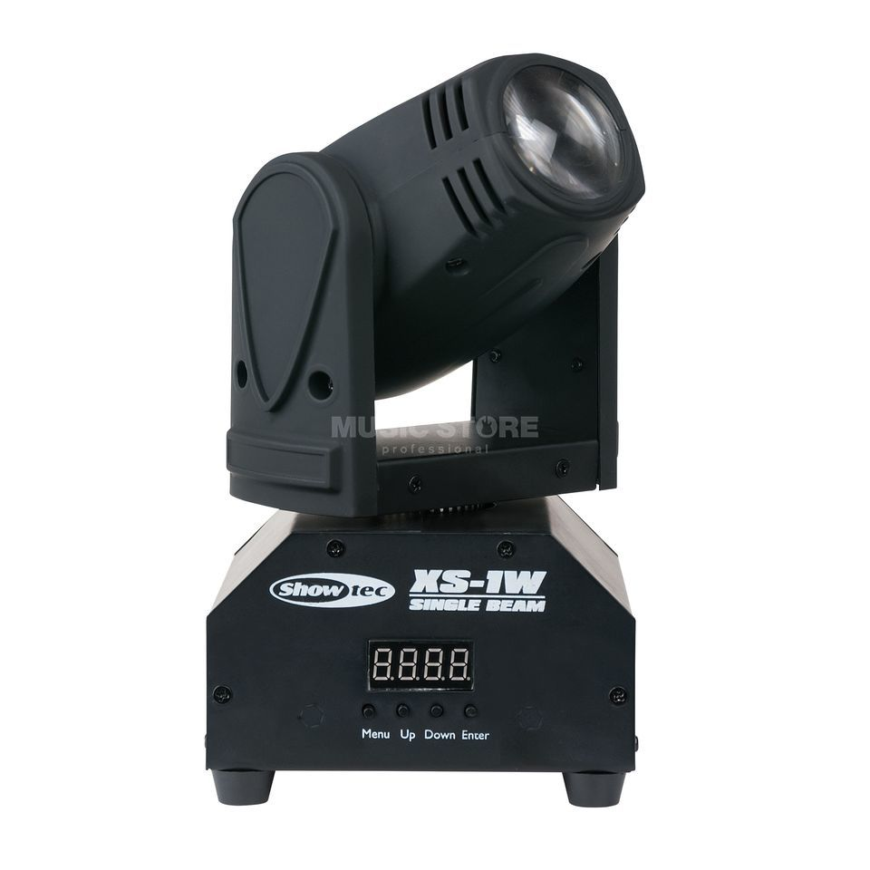Showtec XS-1W Mini Moving Beam 1x 10W 7000K LED Product Image