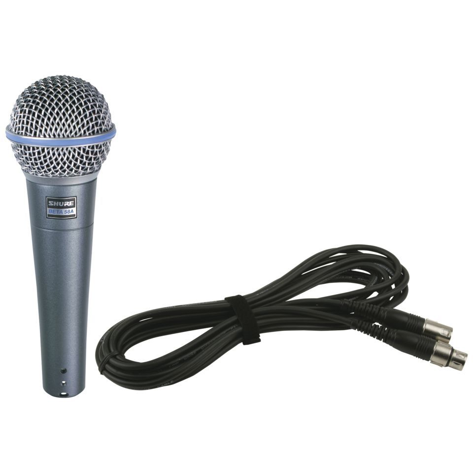 Shure Beta 58A Basic 1 - Set Produktbild
