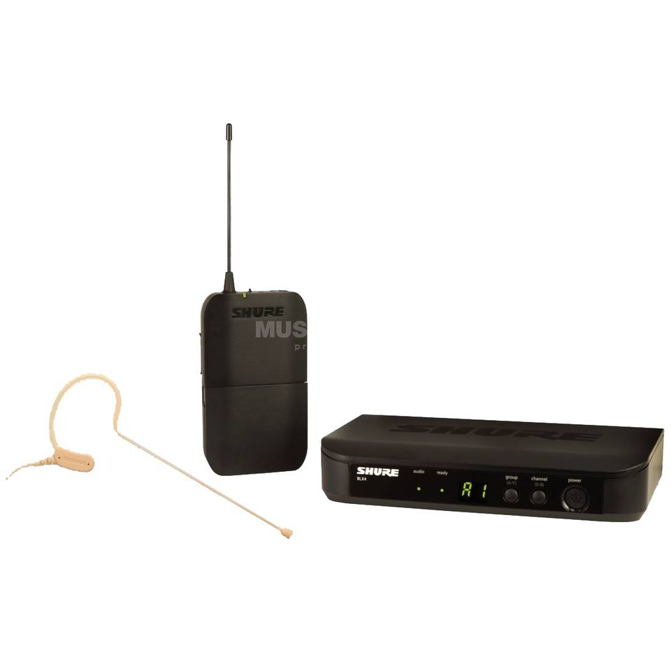 Shure BLX14E/MX53 S8, 823-832MHz Wireless Earset System Product Image