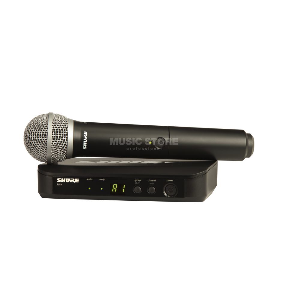 Shure BLX24E/PG58 R12, 794-806MHz Wireless Handheld System Product Image