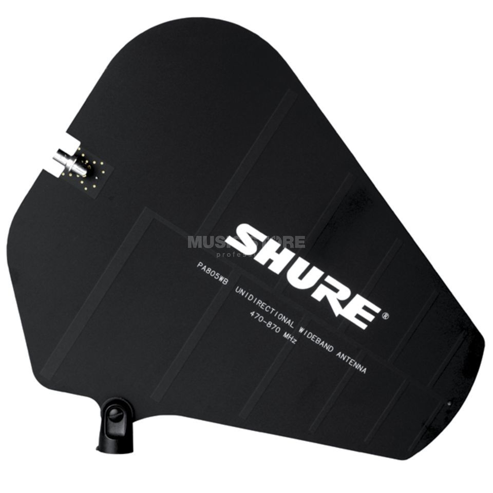 Shure PA805WB UHF Richtantenne voor zender PSM 400/600/700 Productafbeelding