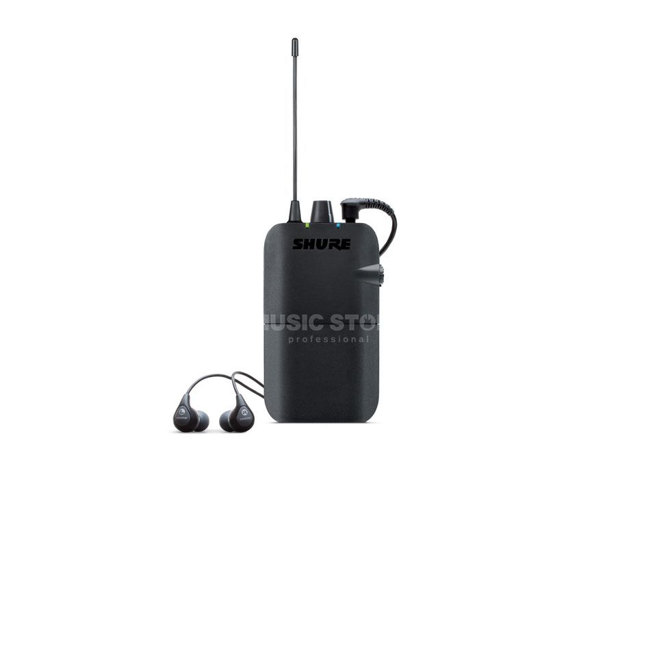 Shure PSM 300 P3R, T11 Pocket reciever Plastic Product Image