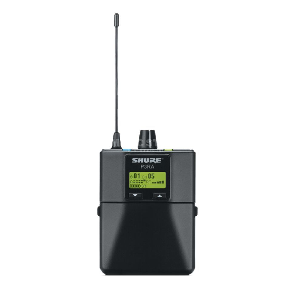 Shure PSM 300 P3RA K12 Pocket Receiver Product Image