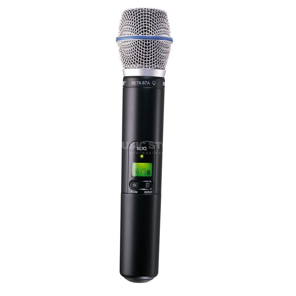Shure SLX2/Beta87A S10 Handheld Transmitter, 823-832 MHz Product Image