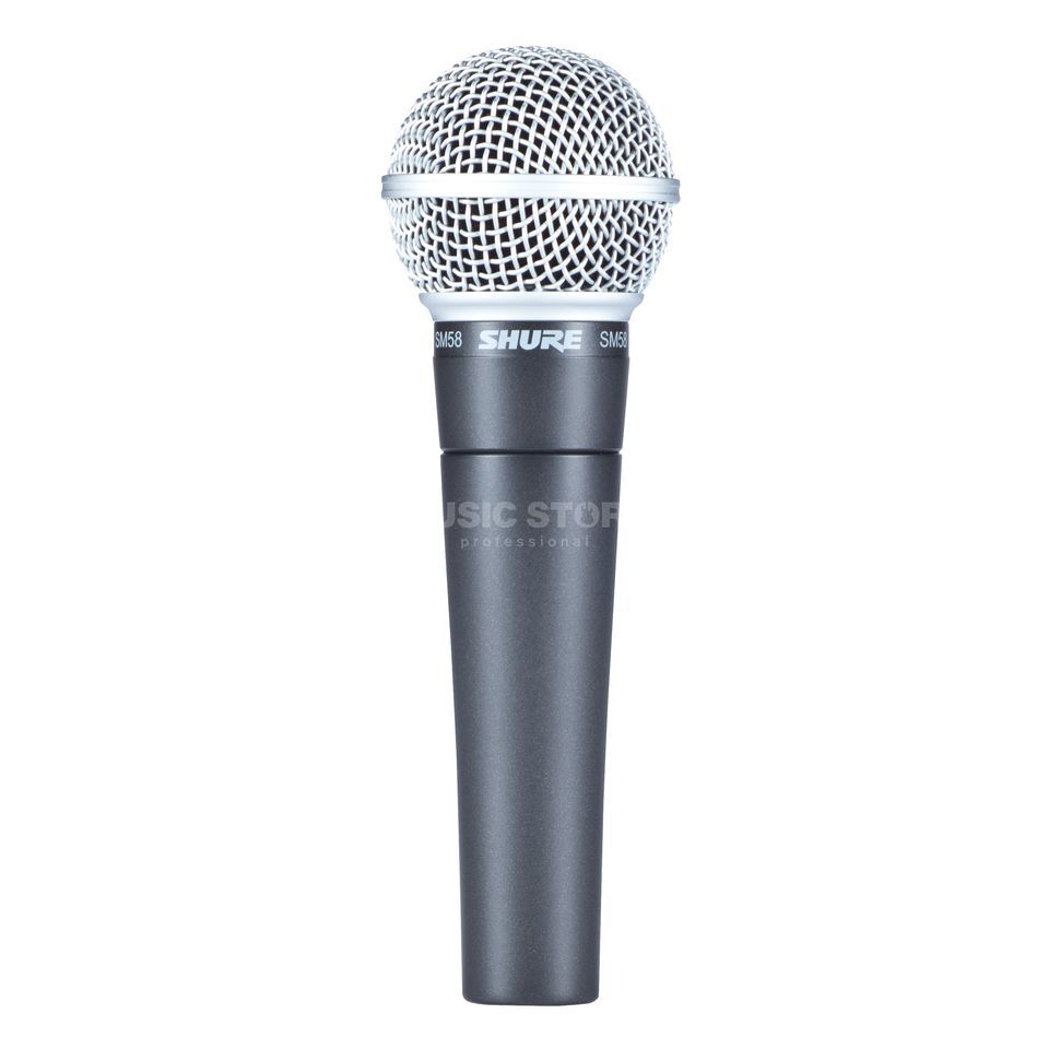 Shure SM 58 LCE dynamic Microphone Product Image