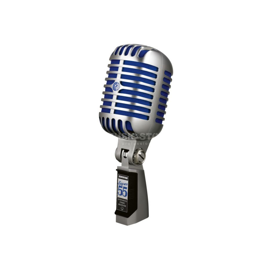 Shure Super 55 Deluxe Vocal Microphone Product Image