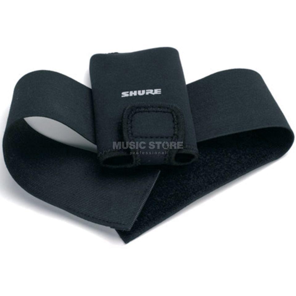 shure wa580 housse ceinture noire pour metteur de poche. Black Bedroom Furniture Sets. Home Design Ideas