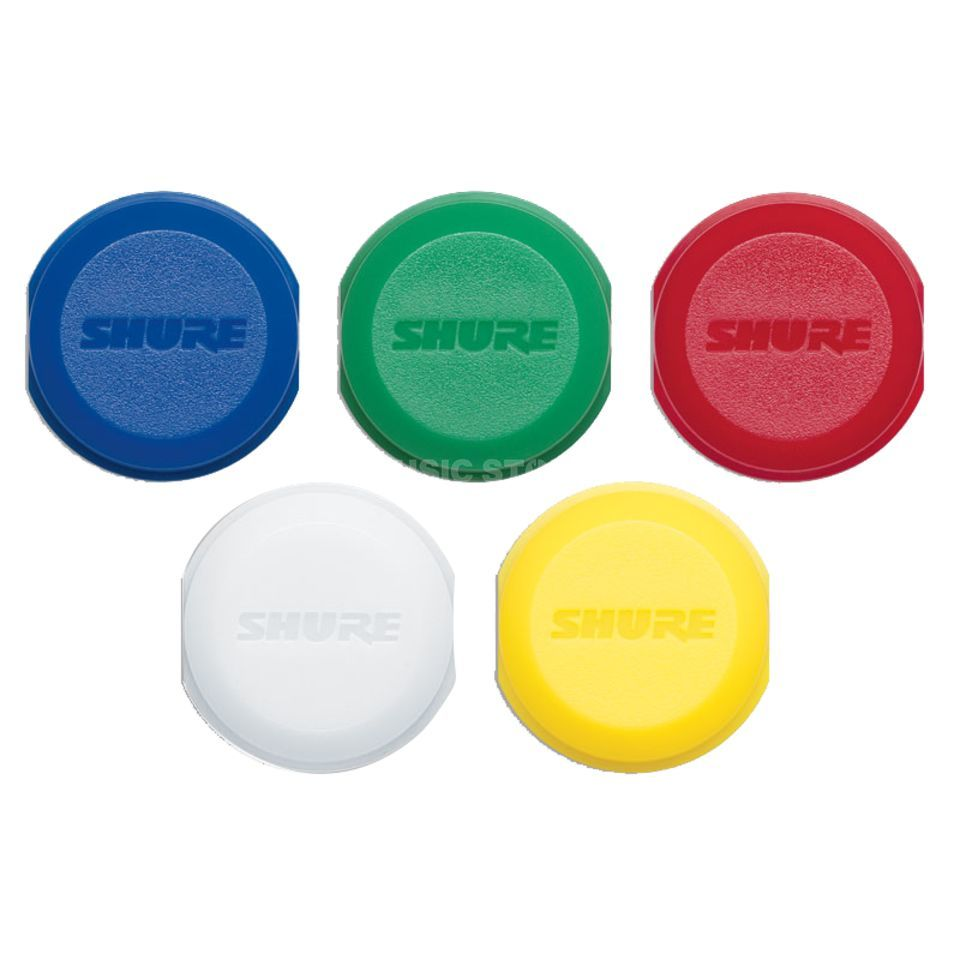 Shure WA621 color ID caps for BLX2 handheld transimtters Produktbillede