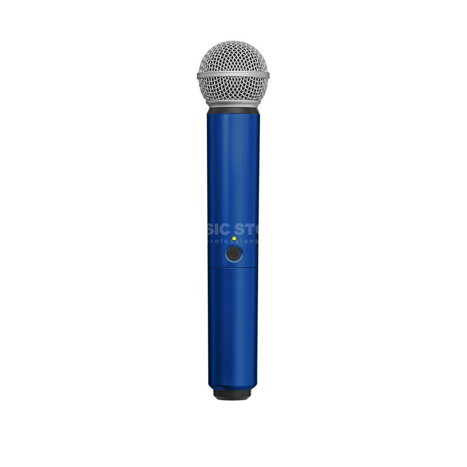 Shure WA713 Colour Housing blue for BLX2/SM58, BLX2/Beta58A Produktbillede