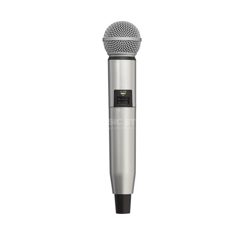 Shure WA723 Colour Housing silver for GLXD2/SM58, GLXD2/Beta58A Produktbillede