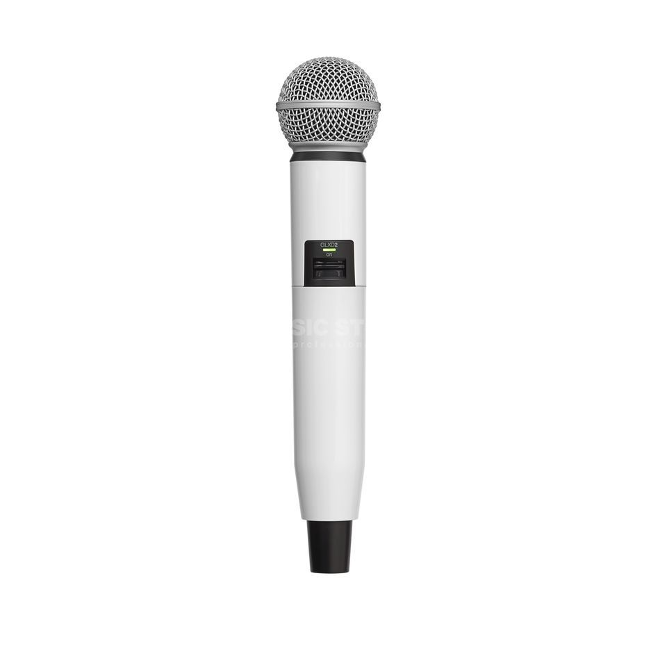 Shure WA723 Colour Housing white for GLXD2/SM58, GLXD2/Beta58A Produktbillede