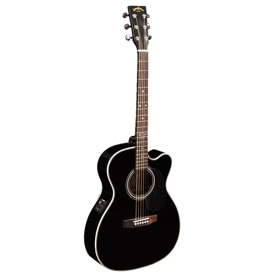 Sigma Guitars 000MC-1STE-BK Black Produktbillede