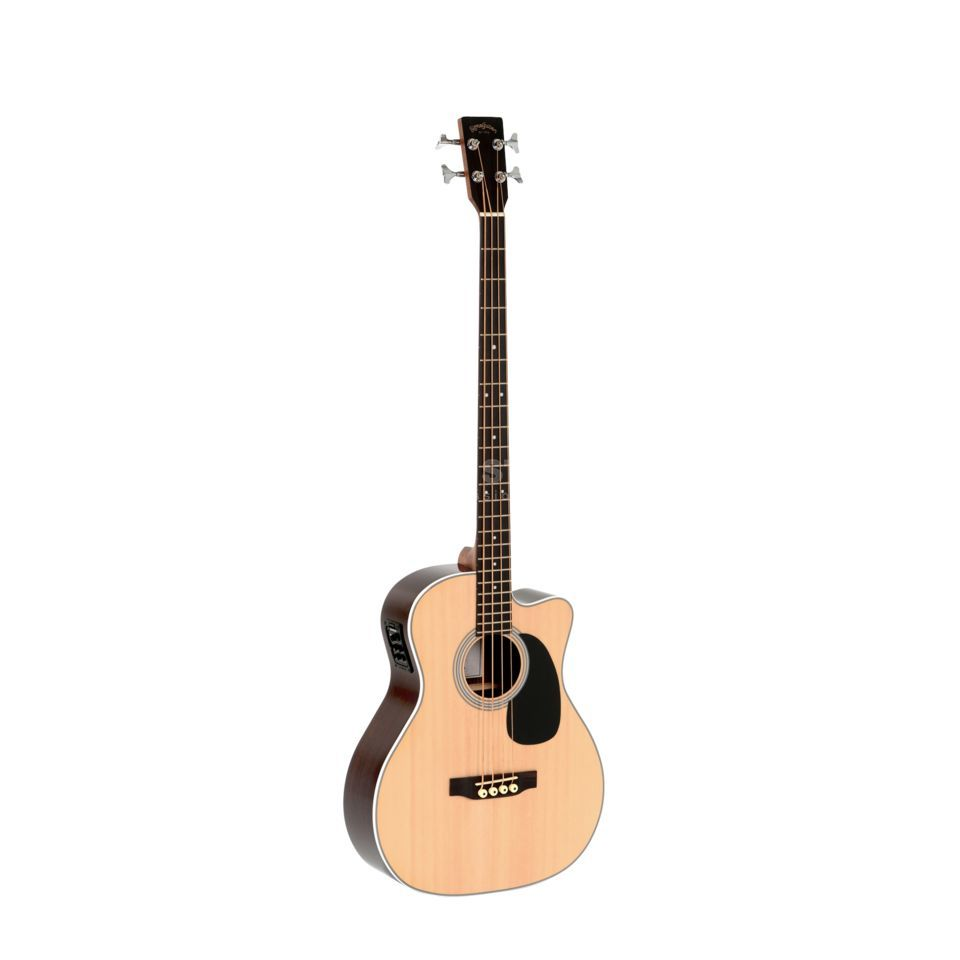 Sigma Guitars BRC-28E Acoustic Bass Natural Immagine prodotto