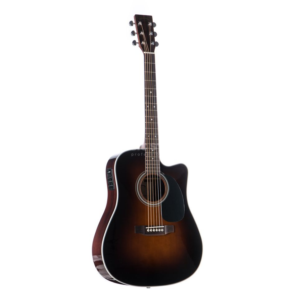 Sigma Guitars DRC-28 E Sunburst Product Image