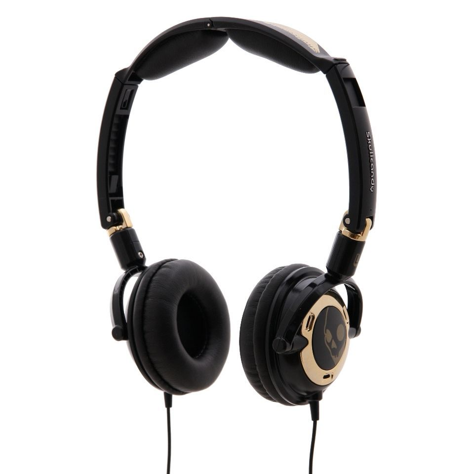 Skullcandy Lowrider Black/Gold Headphone  Produktbillede