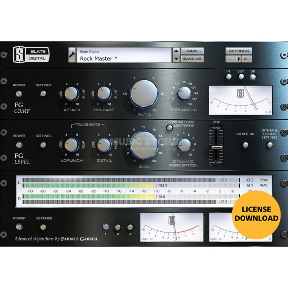 Slate Digital FG-X Virtual Mastering Processor Plugin