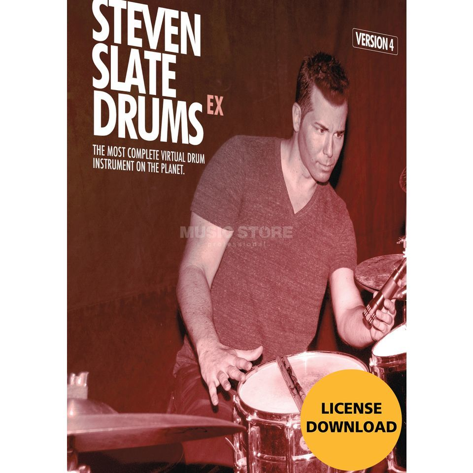 Slate Digital Steven Slate Drums 4 EX (DOWNLOAD) Produktbild
