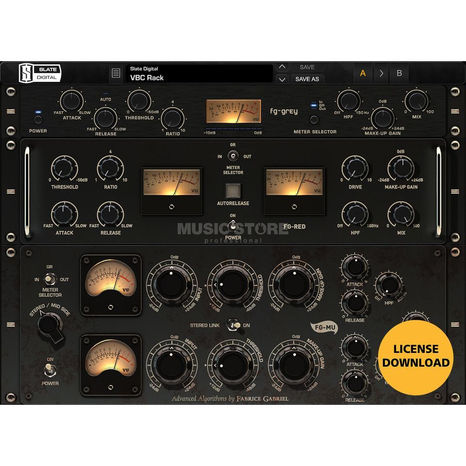 Slate Digital VBC Virtual Buss Compressors (DOWNLOAD) Produktbild
