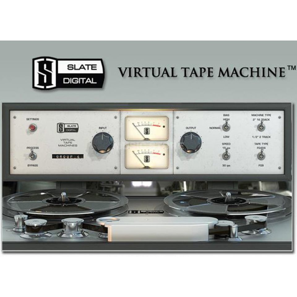 Slate Digital VTM Virtual Tape Machines  Produktbild
