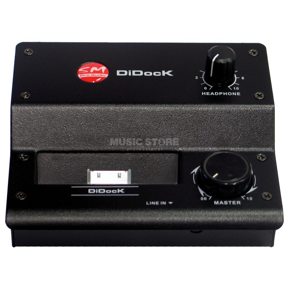 SM Pro Audio DI-Dock Stereo DI Box - Active with Dock for iPod Produktbillede