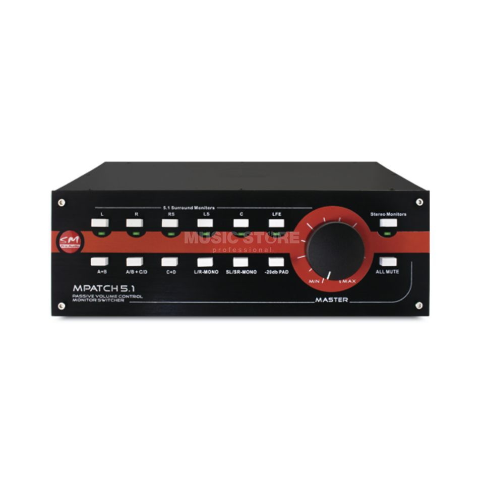 SM Pro Audio M-Patch 5.1 Surround Controler Produktbild