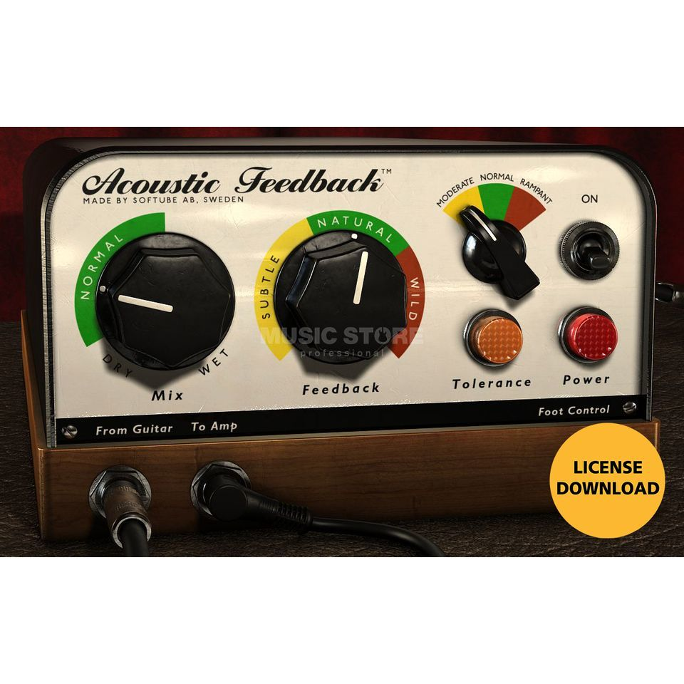 Softube Acoustic Feedback License Produktbillede