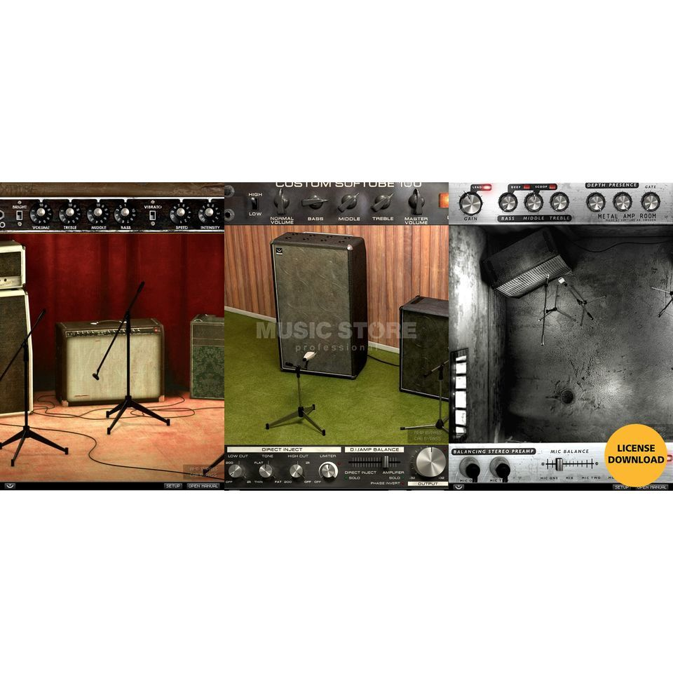 Softube Amp Room Bundle License Produktbillede