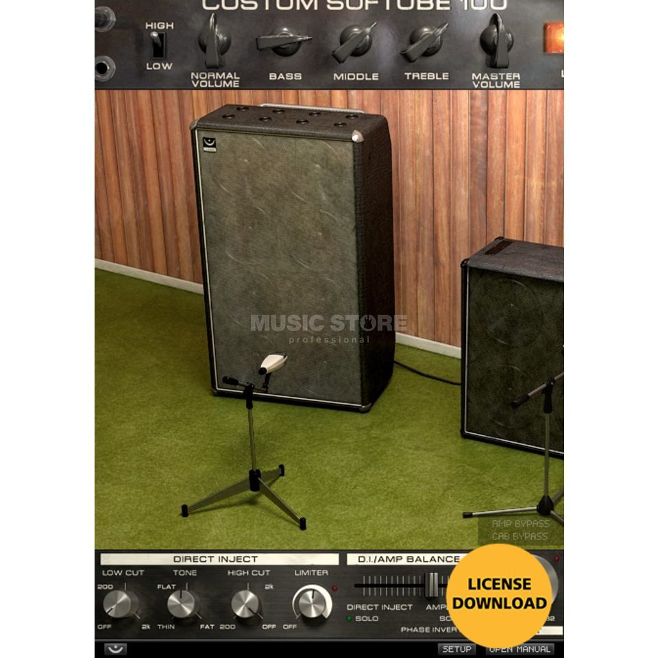 Softube Bass Amp Room License Code Produktbild