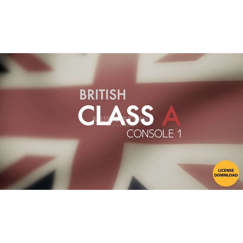 Softube British Class A License Code Produktbillede