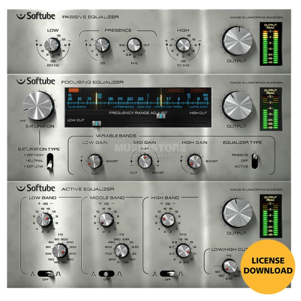 Softube Passive-Active Pack (DOWNLOAD) Produktbild