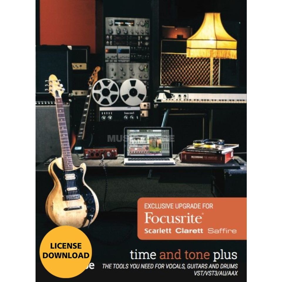 Softube Time and Tone Plus UP CODE Focusrite Exklusiv Produktbillede