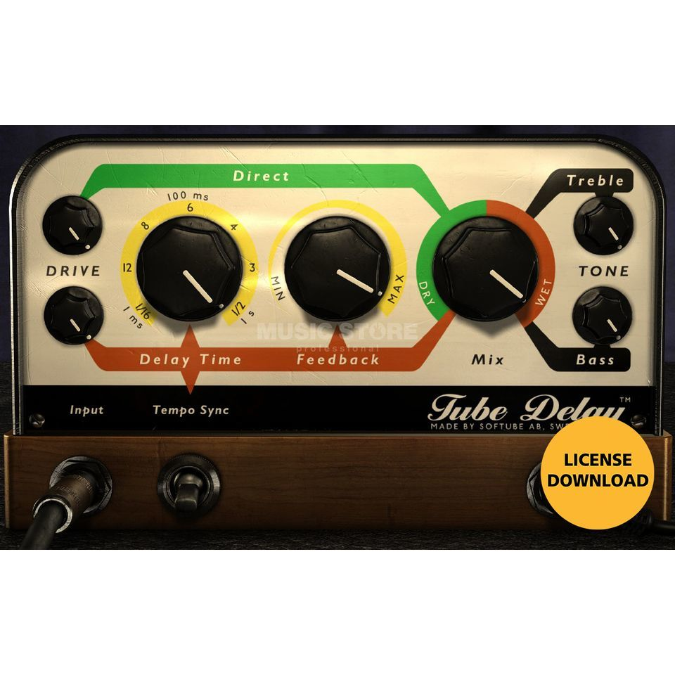 Softube Tube Delay License Produktbillede