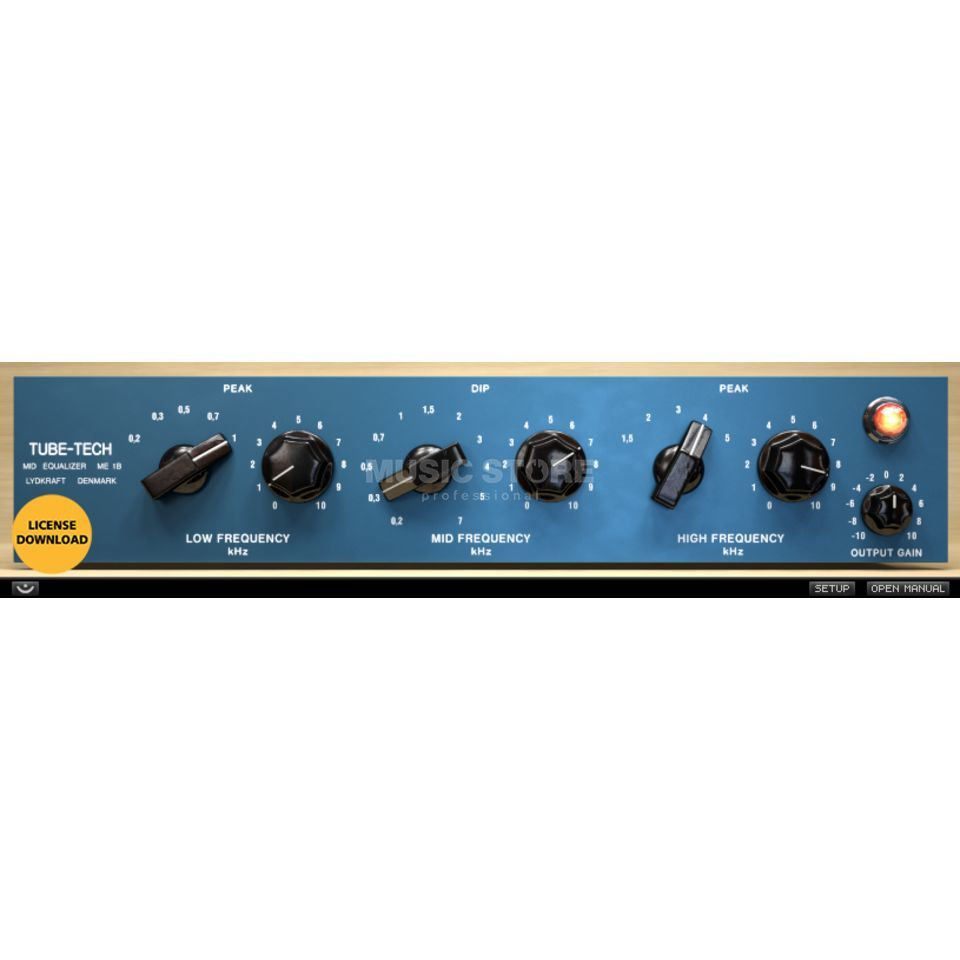 Softube Tube-Tech ME 1B Midrange EQ License Produktbillede