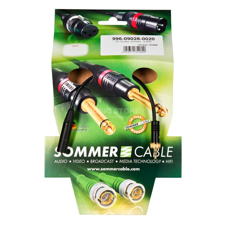 Sommer Cable Sennheiser EW - AKG TQG Adapter Product Image