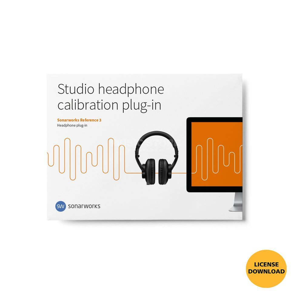 SONARWORKS Headphone Plug-In (Lizenzcode) Produktbild