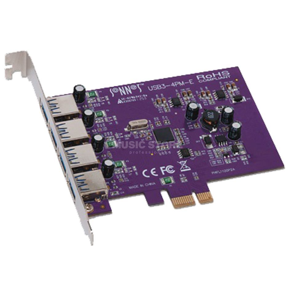 Sonnet Allegro USB 3.0 PCIe Card 4 ports Macintosh/Windows Produktbild
