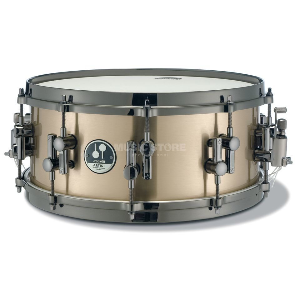 "Sonor AS121406BRB Artist Snare, 14""x6"", Bronze Produktbild"