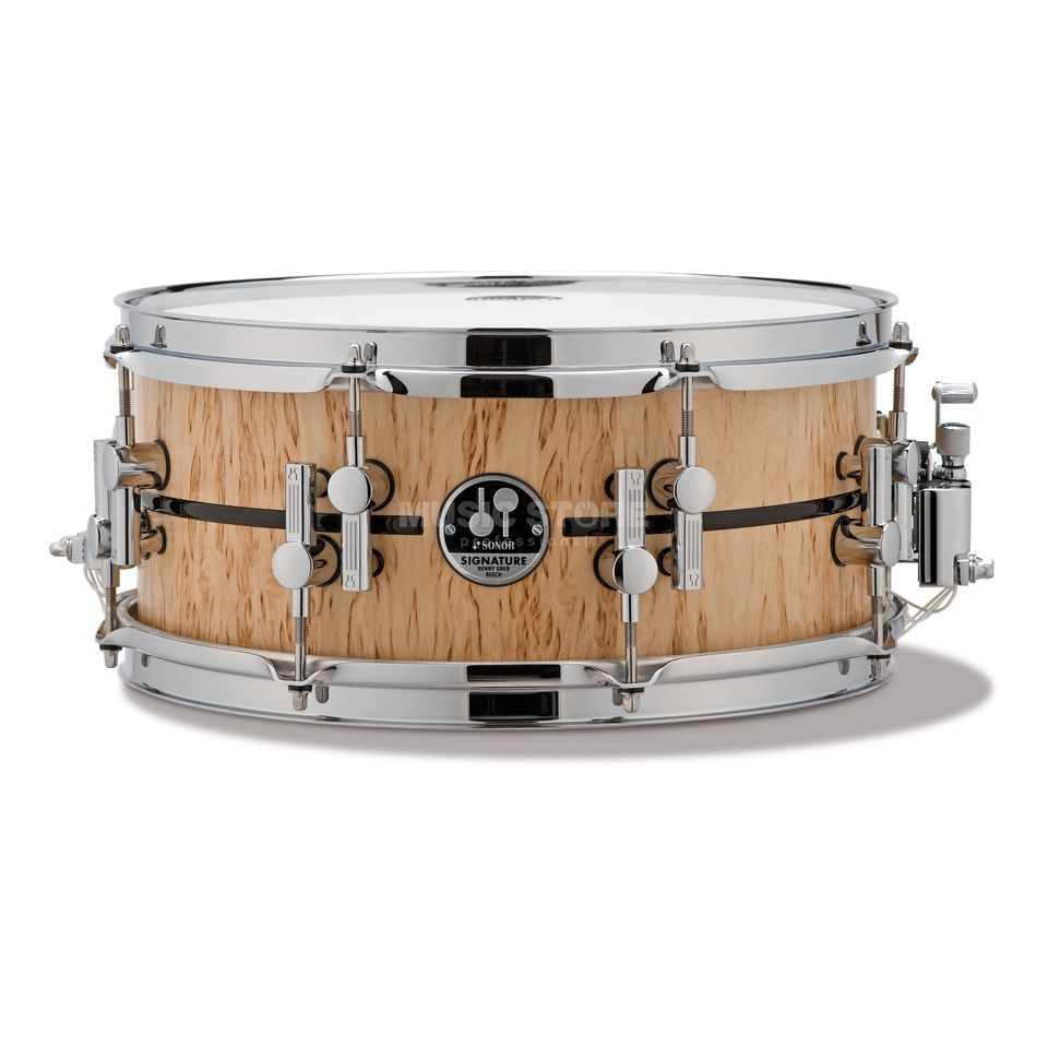 "Sonor Benny Greb Snare 13""x5.75"" Beech Product Image"