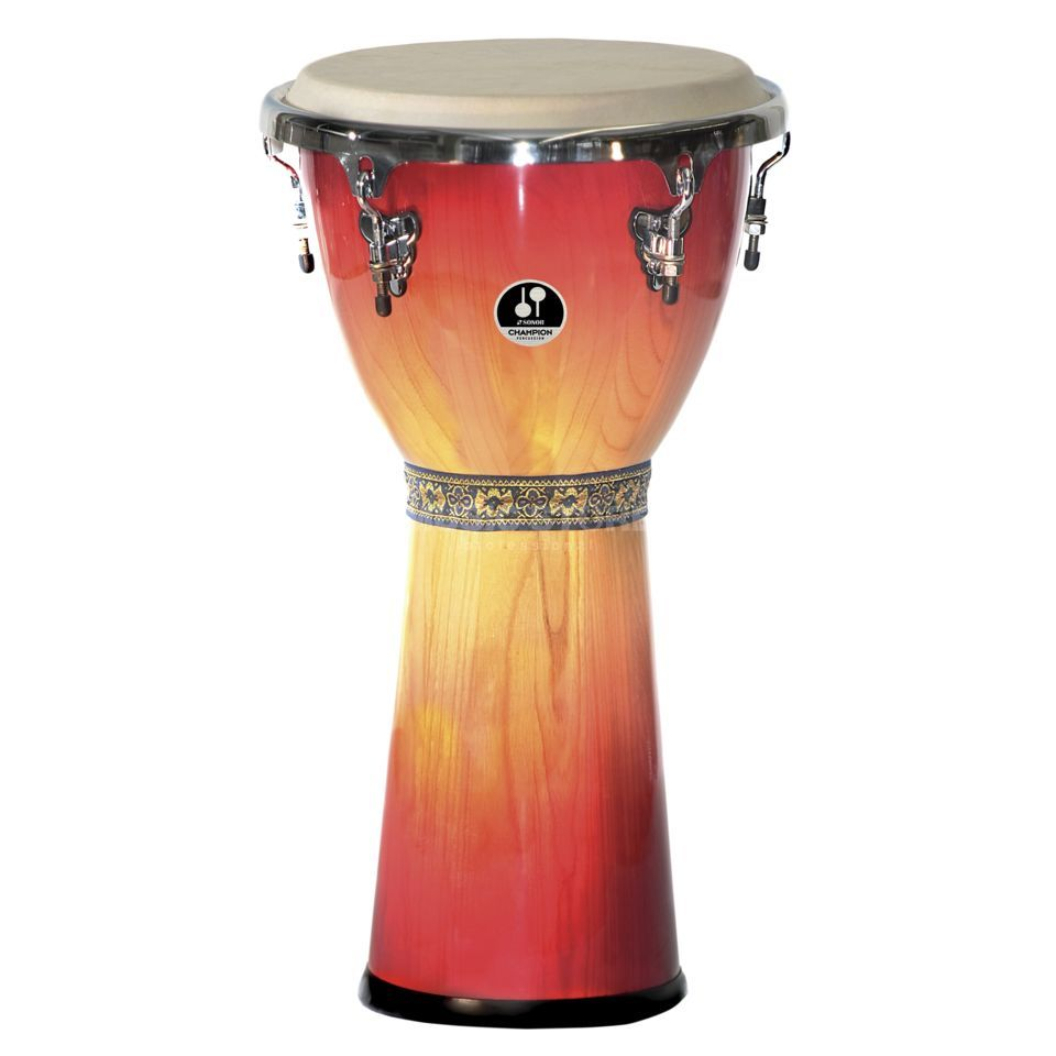 "Sonor Champion Djembe CD12RBHG 12"", Redburst Product Image"
