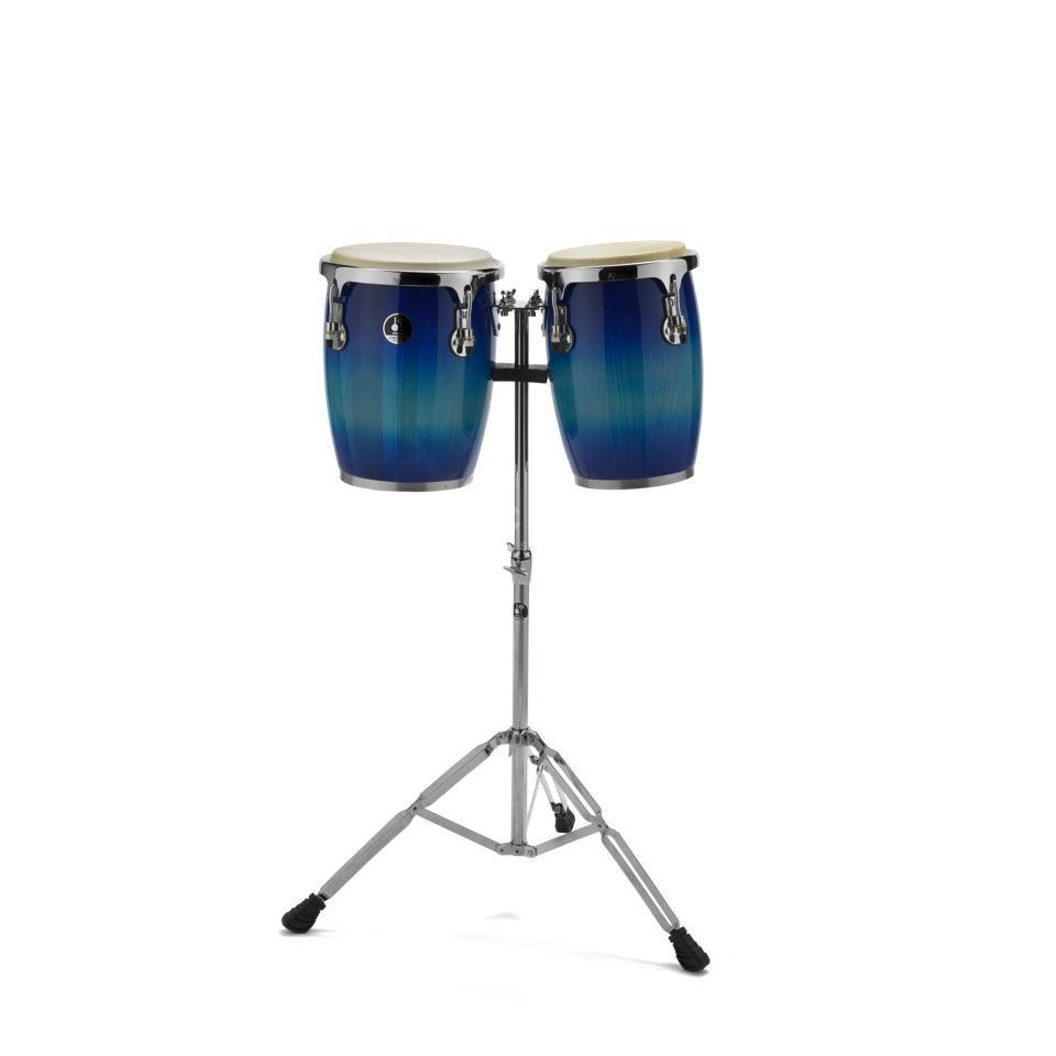 "Sonor Champion Mini Conga Set CMC0910BBHG, 9""&10"", Blueburst Product Image"