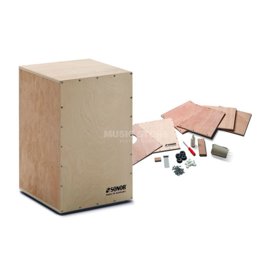 Sonor DIY Cajon Assembly Kit CAJS DIY A, Adults Produktbillede