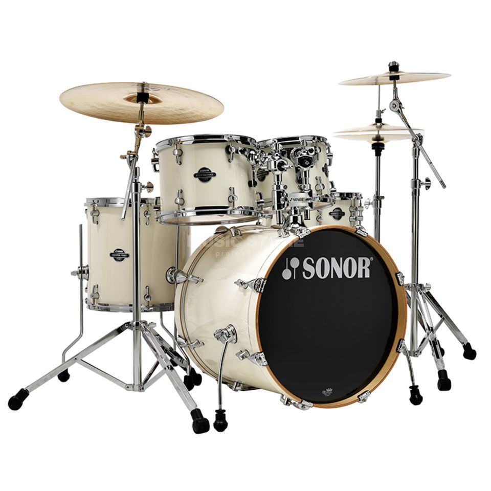 Sonor Essential Force Stage S Drive, Creme White #34 Produktbillede