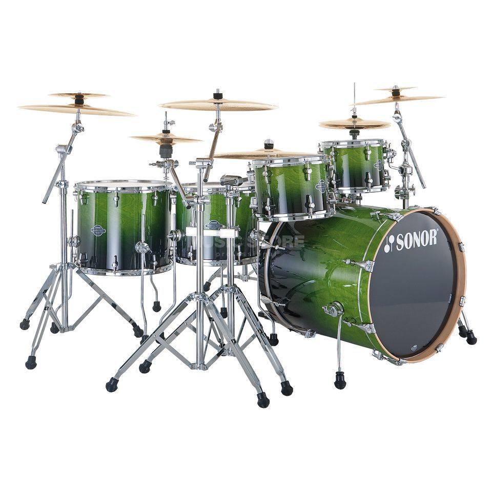 Sonor Essential Force Stage S Drive, Green Fade #21 Produktbild