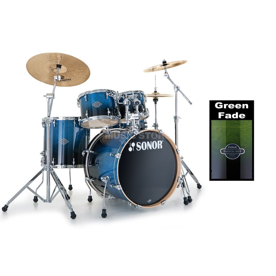 Sonor Essential Force Studio, Green Fade #21 Produktbild