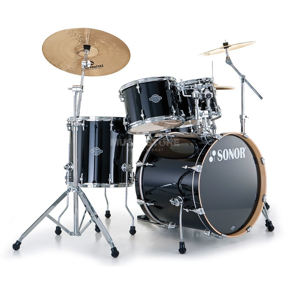 Sonor Essential Force Studio, Piano Black #41 Immagine prodotto