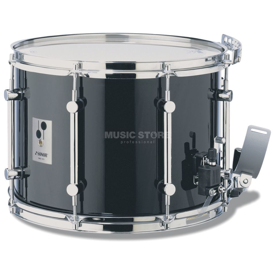 "Sonor Marching Snare MB1412CB, 14""x12"", B-Line Series, black Produktbillede"