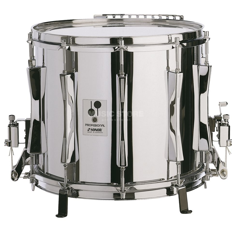"Sonor Marching Snare MP1412XM, 14""x12, Professional, Steel Produktbillede"