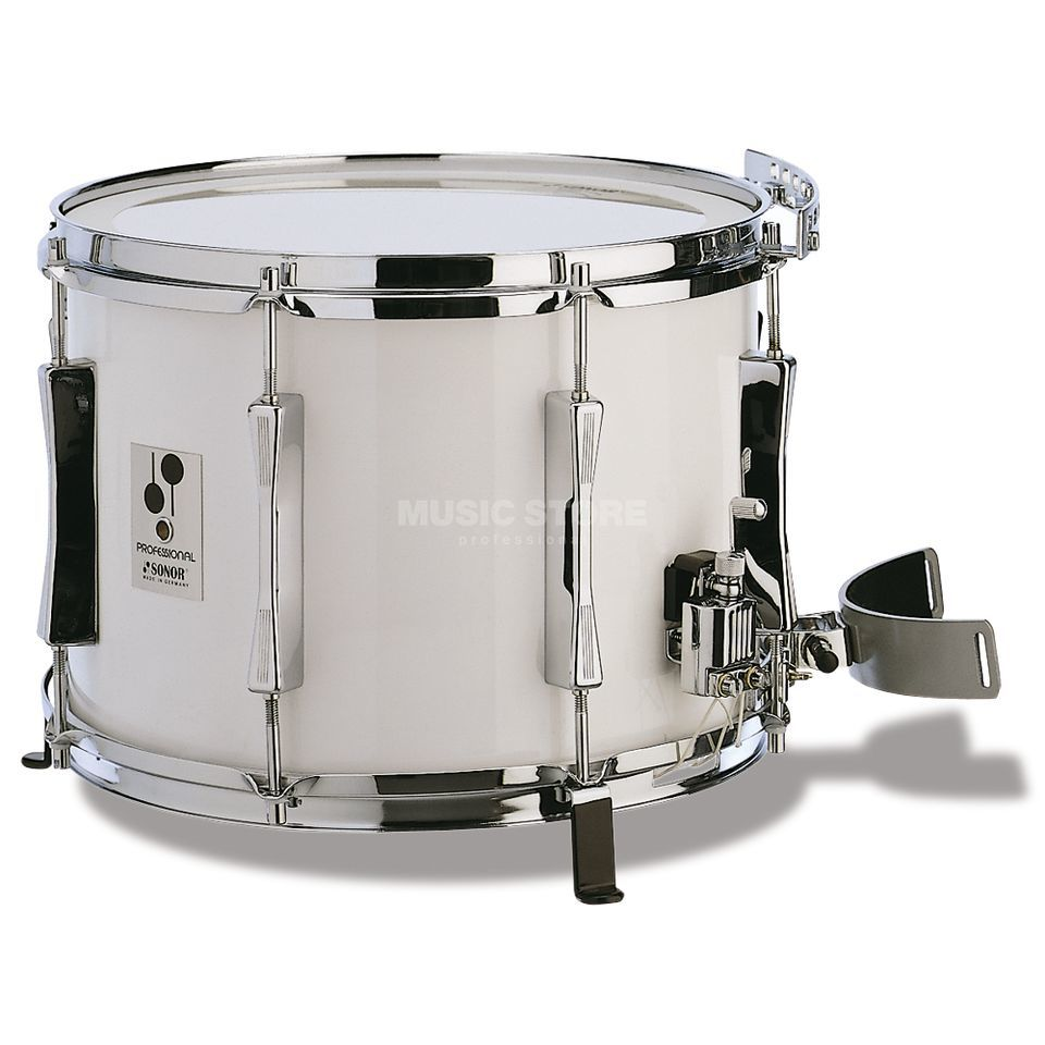 "Sonor Marching SnareDrum MP 1410 CW, 14""x10"", white Produktbild"