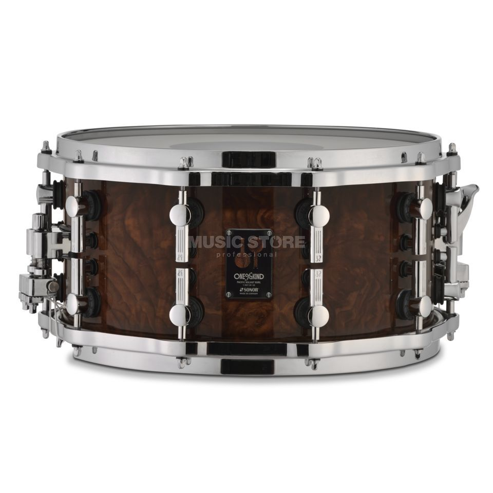 "Sonor One of a kind Snare 14""x7"", Pacific Walnut Burl Produktbild"