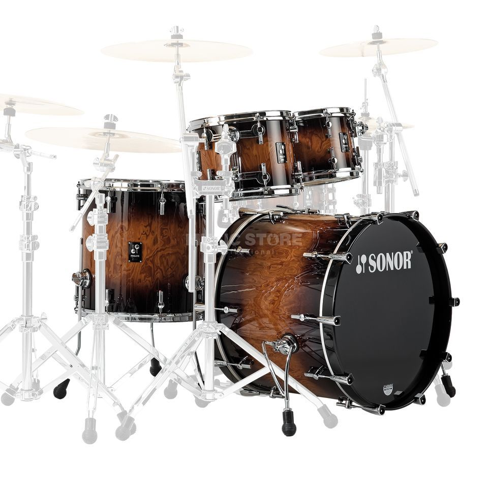 Sonor ProLite Studio 1, Walnut Brown Burst #88 Produktbillede